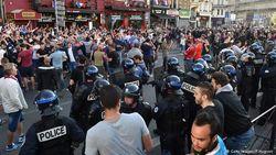 После поражения от Словакии российские фанаты устроили стычки в Лилле