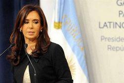 Президент Аргентины Киршнер поддержала решение Крыма уйти в Россию