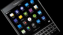 BlackBerry рекламирует клавиатуру смартфона Passport