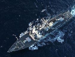 Эсминец «Дональд Кук» вошел в акваторию Черного моря