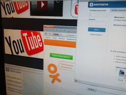 Одноклассники, YouTube и VK