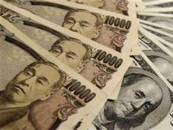 Курс доллара продолжил рост против японской иены на Форекс на 0,16%