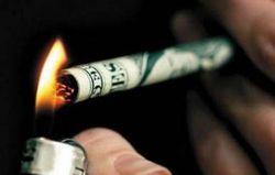 Покращення от боевиков: сигареты за 50 гривен, километр на такси – 100 гривен