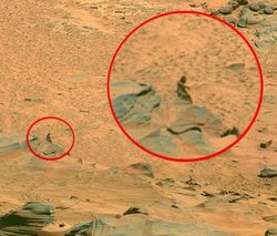На Марсе уфологи сфотографировали жизнь