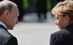 Меркель призывает Путина использовать свое влияние на сепаратистов Донбасса