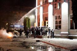 После штурма обладминистрации в Черкассах задержано 58 человек