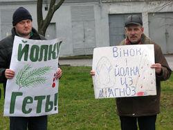 Украина: протесты Евромайдана докатились до Краматорска на Донеччине