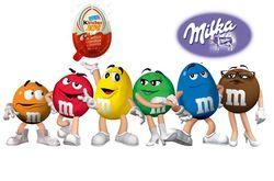 Названы самые популярные бренды шоколада в Одноклассники: M&M's и Kinder