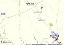 Карта РГА Николаева