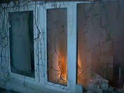 "Протестующие разбили окна в офисе Медведчука и ""Сбербанке"""