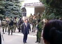 В Краматорске произошел захват СБУ и МВД