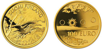 Курс золота к евро