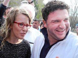 Ксения Собчак отказывается публично обсуждать свое замужество