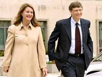 Супруги Гейтс