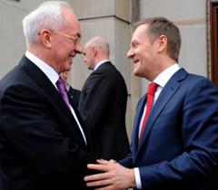 Премьер Польши Туск: Янукович все лучше понимает Европу