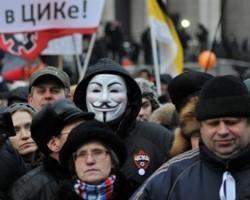 Милиция хочет запретить демонстрантам скрывать лица под масками