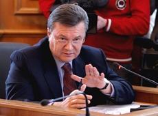 Янукович пообещал Путину зону свободной торговли с СНГ в ближайшее время