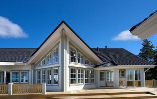 финские деревянные дома.