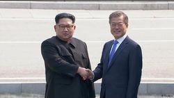 Руковожатие Ким Чен Ына и Мун Чжэ Ина