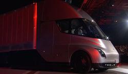 Электротягач от Tesla будет выпускаться в 2019 году