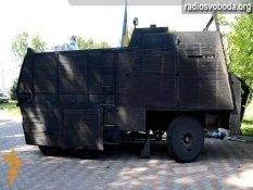 Батальон «Азов» сконструировал собственный бронированный «КамАЗ»