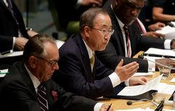 Пан Ги Мун: ООН может увеличить гуманитарную помощь Украине