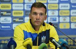 Наставник сборной Украины Андрей Шевченко