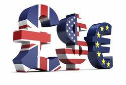 Курс евро на Forex снижается на фоне позитивных данных по продажам новостроек в США