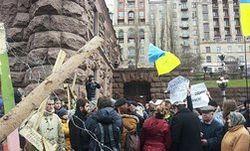 Майдан в рыночной экономике: нет денег - убирай мусор сам