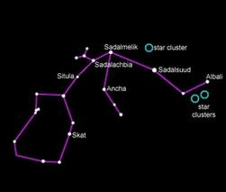 Обнаружен непонятный крупный объект в созвездии Водолея