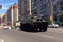 Минобороны Украины объяснил, почему 9 мая по Киеву ездили БТР