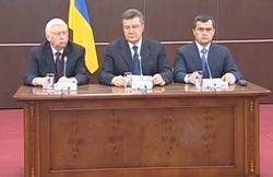 Янукович в Ростове вновь призвал к диалогу и милосердию