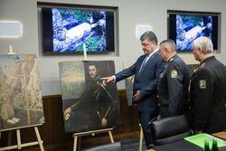 Как украинские пограничники задержали картины из итальянского музея