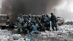 """СМИ назвали """"географию"""" бойцов """"Беркута"""", сражающихся с митингующими в Киеве"""