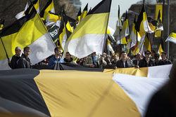 Официальным флагом Новороссии станет имперский черно-желто-белый стяг России
