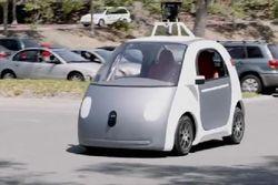 Google займется производством автомобилей без руля и педалей