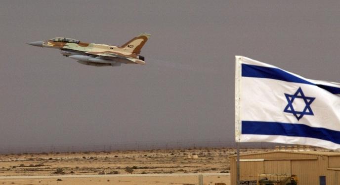 Сирия заявляет , что сбила израильский военный самолет ибеспилотник