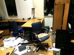 Офис ИСД, разгромленный сепаратистами, принадлежит россиянам, а не Таруте