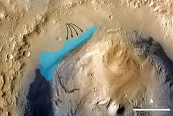 Кьюриосити: на Марсе найдены следы озера - что удивило ученых