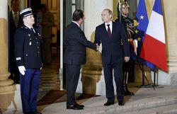 Украина стала главным вопросом переговоров Олланда с Путиным