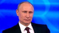 Путин поблагодарил Вооруженные силы за крымские события