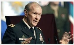 Генерал Демпси хочет усилить присутствие НАТО в Средиземноморье