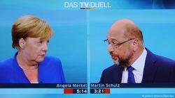 Теледебаты Ангелы Меркель и Мартина Шульца