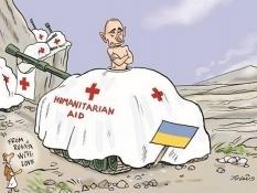 Российская гуманитарка застряла на границе из-за нерешенных вопросов