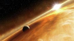 """Впервые в истории астрономы """"увидели"""" воду в атмосфере """"горячего юпитера"""""""