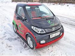 В Минске показали новые модели электрокаров предприятия «Юнисон»