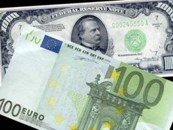 Курс доллара и евро на Forex ожидают экономической статистики по еврозоне