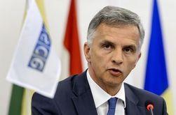 Глава ОБСЕ приветствует мирный план Порошенко и призывает к диалогу