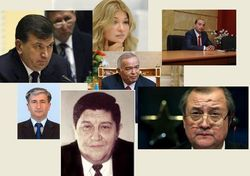 Политики Узбекистана: Гульнара Каримова и Ислам Каримов
