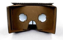 Cardboard — шлем виртуальной реальности от Google из картона